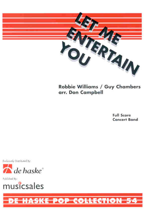Let Me Entertain You (A Robbie Williams Medley) - klik voor groter beeld