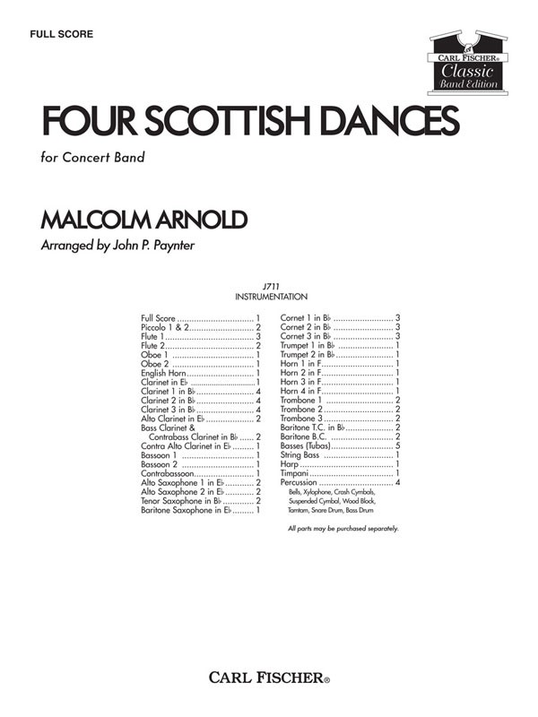 4 Scottish Dances - klik hier