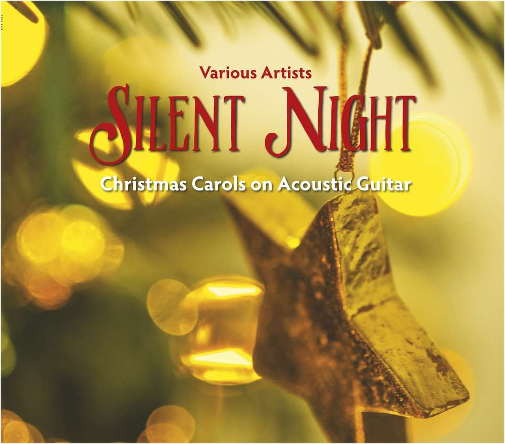 Silent Night - Christmas Carols on Acoustic Guitar - klik voor groter beeld