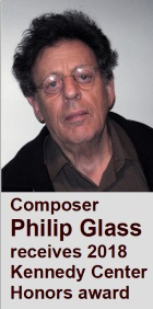 2018-07-27 Composer Philip Glass receives 2018 Kennedy Center Honors award - Klik hier